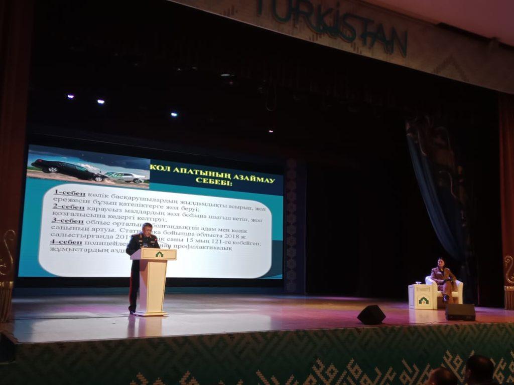 Түркістан облысы аумағындағы 506 бейнебақылау камералары арқылы  101 қылмыс ашылып, 10 307 әкімшілік құқықбұзушылық анықталған