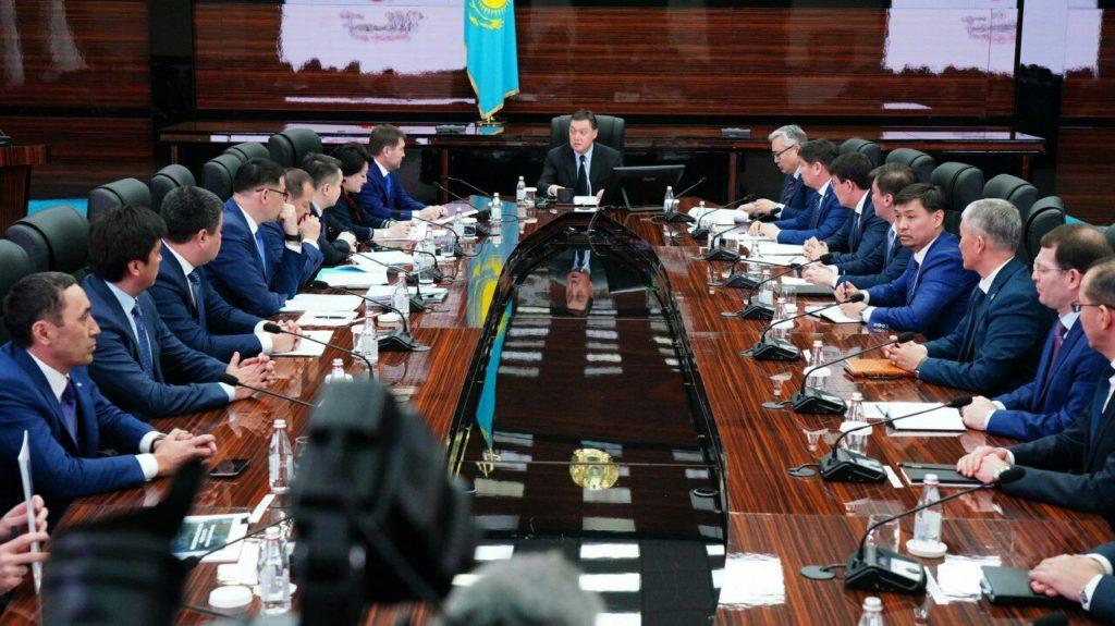 ҚР Премьер-Министрі А.Мамин Шымкент қаласын дамыту мәселелері жөнінде кеңес өткізді