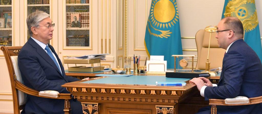 Мемлекет басшысы Ақпарат және қоғамдық даму министрі Дәурен Абаевты қабылдады
