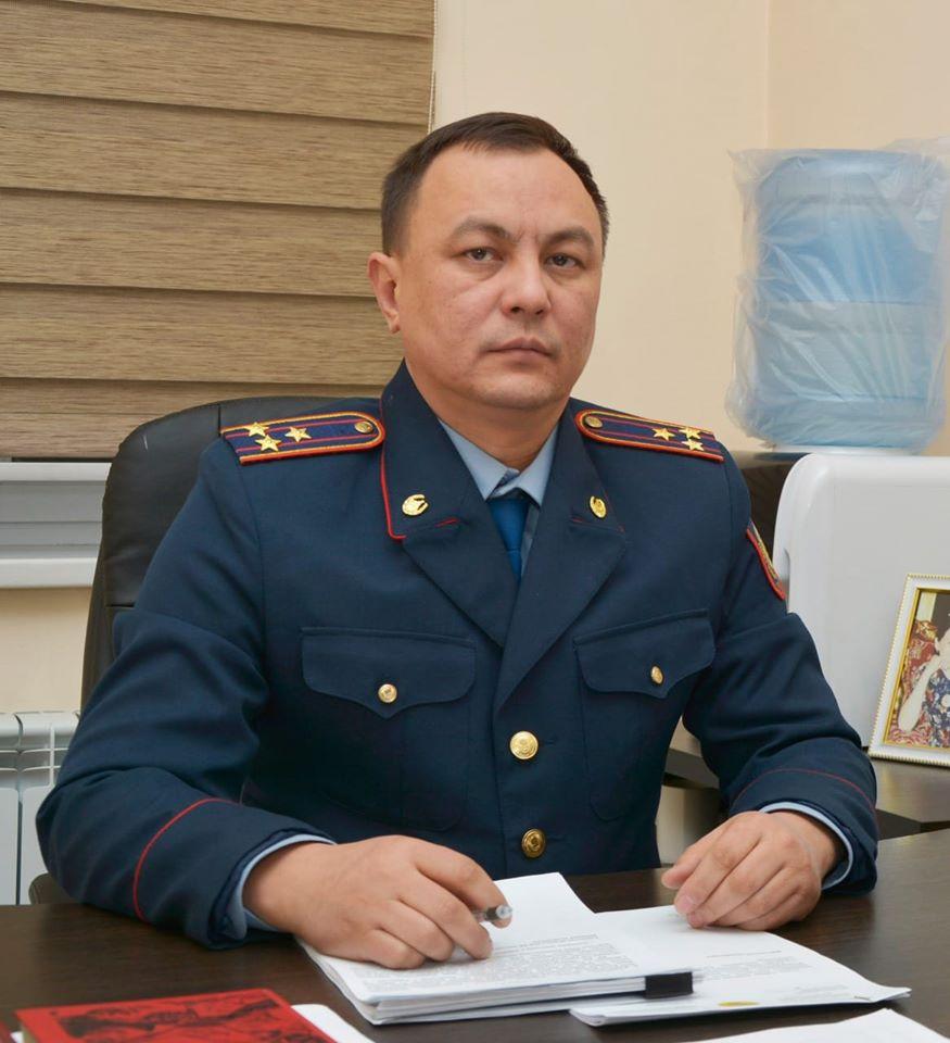 Сайрам аудандық полиция басқармасының бастығы  тағайындалды