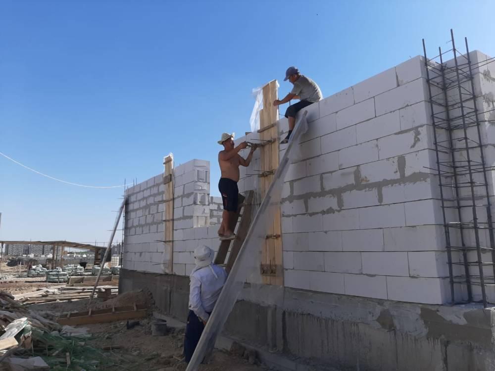 Мақтаарал: «Салиқалы ұрпақ» қоғамдық қоры 20 үйдің құрылысын жалғастыруда