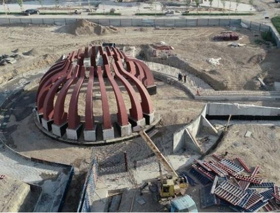 Түркістанда «Қазақ хандары» мемориалды кешені салынуда