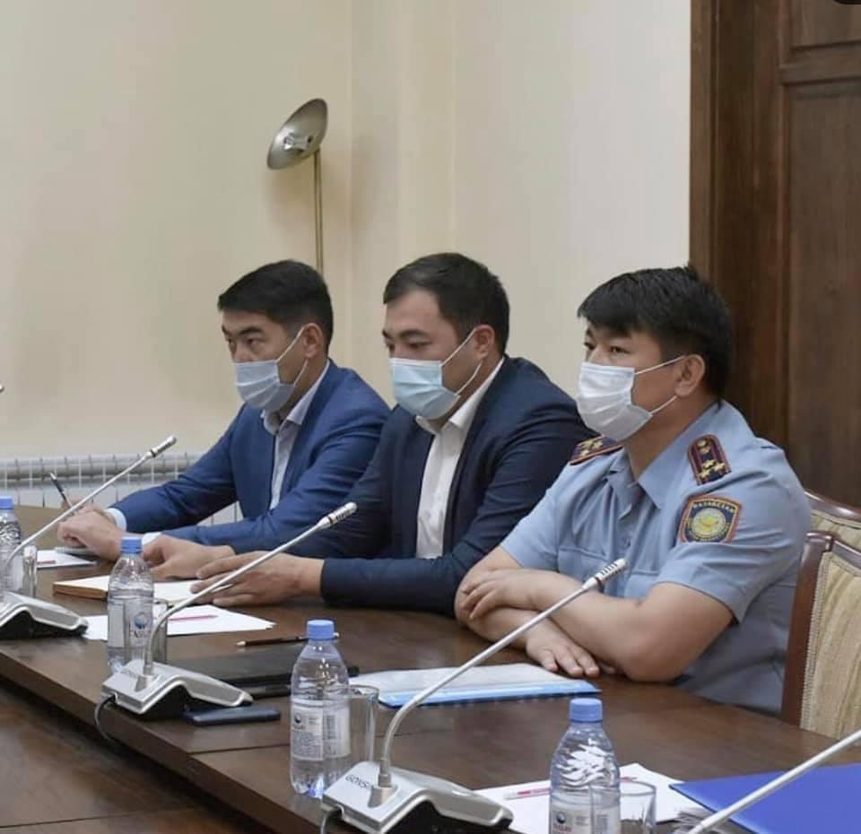 Р.Аюпов полиция қызметкерлерінің жұмысын жандандыруды тапсырды