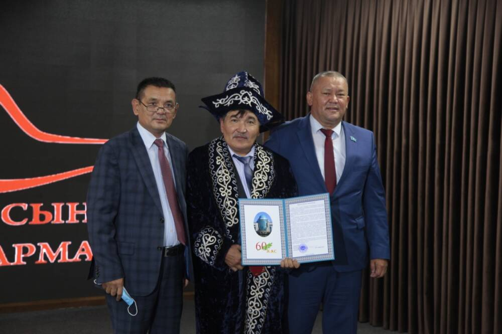 Бекжігіт Сердәлі-60 жаста
