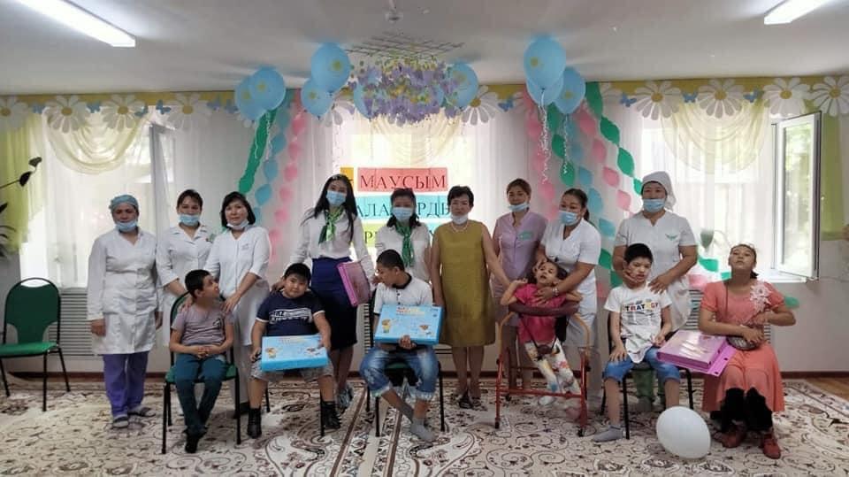 САЙРАМ: «Сайрам мүгедек балаларды оңалту орталығы» коммуналдық мемлекеттік мекемесі